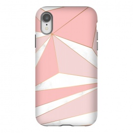 iPhone Xr  Pink Geometry 043 by