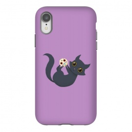 iPhone Xr  Kitty sugar skull by Laura Nagel