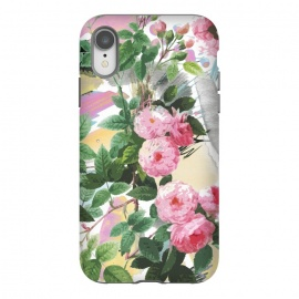 iPhone Xr  Pink painted roses by