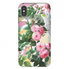 iPhone Xs Max  Pink painted roses by Oana