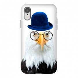 iPhone Xr  Funny Eagle Portrait by Alemi