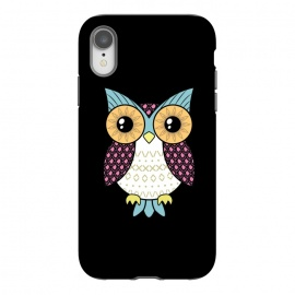 iPhone Xr  Fancy owl by Laura Nagel