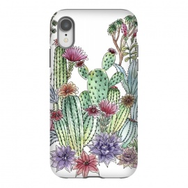 iPhone Xr  Cactus garden by Julia Grifol