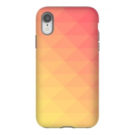 iPhone Xr  orange yellow pattern by MALLIKA