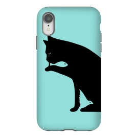 iPhone Xr  Cat and food by