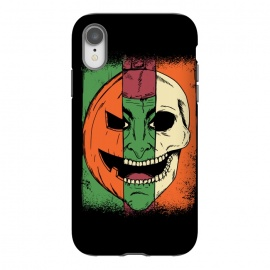 iPhone Xr  Monsters Faces by Coffee Man (monsters, monster, wicth,skull. pumpkin, horror, halloween, dead, evil)
