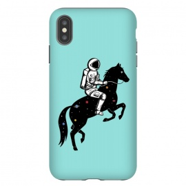 iPhone Xs Max  Astronaut and Horse 2 by Coffee Man