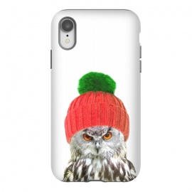 iPhone Xr  Funny Owl Portrait by Alemi