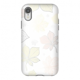 iPhone Xr  Autumn Leaves Pattern XV by Bledi