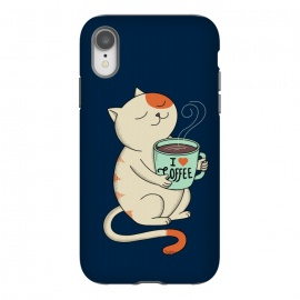 iPhone Xr  Cat and Coffee 2 by Coffee Man