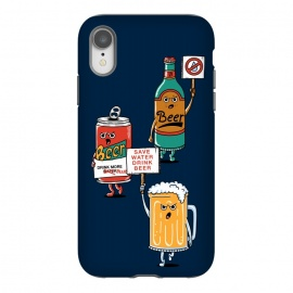 iPhone Xr  Save Water Drink Beer by Coffee Man