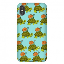 Turtle and Snail Pattern by Coffee Man