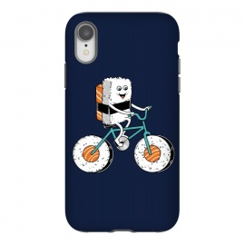iPhone Xr  Sushi Bike by  (sushi,bike,bicy,bicycle,sport,ride,cute,adorable,fun,funny,humor,food,kid,kids)