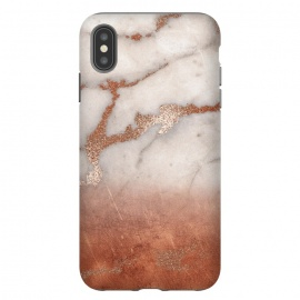 Copper Trendy Veined Marble by Utart