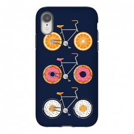 Food Bicycle 2 by Coffee Man (bike, bicycle, bicy, sport, ride, velocity, food, sushi, orange, donut, cute, adorable, fun, funny, humor, kid, kids,children)