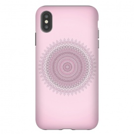 iPhone Xs Max  Soft Pink Mandala by Andrea Haase