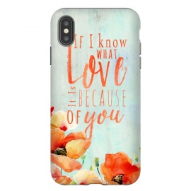 iPhone Xs Max  About Love by Utart