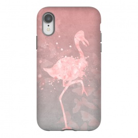 iPhone Xr  Flamingo Watercolor Art by Andrea Haase