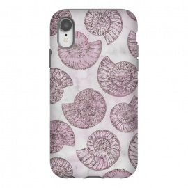 iPhone Xr  Soft Pink Fossils  by Andrea Haase
