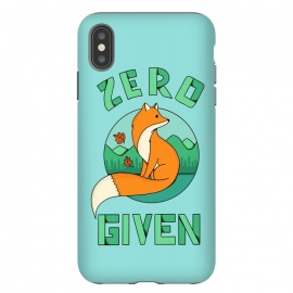iPhone Xs Max  Zero Fox Given by Coffee Man