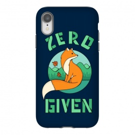 iPhone Xr  Zero Fox Given 2 by  (fox, animal, animals, pet, pets, landscape,nature,outdoor,fun, funny, humor, cute, adorable,lettering)