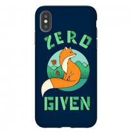 iPhone Xs Max  Zero Fox Given 2 by Coffee Man (fox, animal, animals, pet, pets, landscape,nature,outdoor,fun, funny, humor, cute, adorable,lettering)