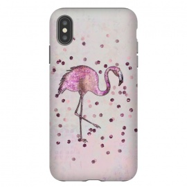 iPhone Xs Max  Glamorous Flamingo by