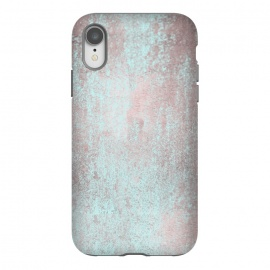 iPhone Xr  Rose Gold And Teal by Andrea Haase