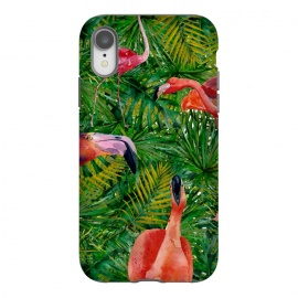 iPhone Xr  Flamingo Jungle Party by Utart