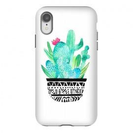 iPhone Xr  Pot Me A Cacti! by Amaya Brydon (cacti,cactus,green,botanical,plant,desert,pot,plants,illustration)