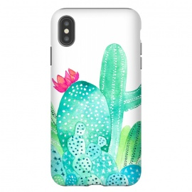 iPhone Xs Max  Cactus Garden by Amaya Brydon