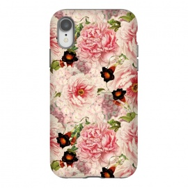 iPhone Xr  Victorian Vintage Roses by