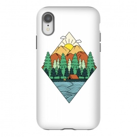 iPhone Xr  Mountain Diamond White by Coffee Man