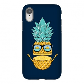iPhone Xr  Pineapple Sunglasses Blue by Coffee Man (pineapple, sunglasses,summer,landscape,beach,ocean,marine,sea,nature,explore,adventure,fruit,fun,funny,humor,cute,adorable,sun,sunset)