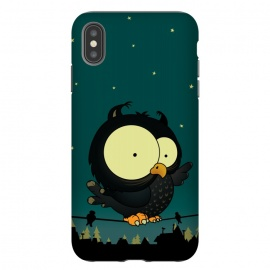 iPhone Xs Max  Little Owl by Mangulica