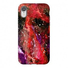 iPhone Xr  Red Galaxy by Gringoface Designs