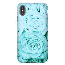 Teal Roses Pattern by Utart