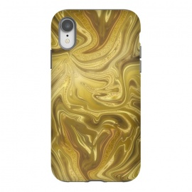 iPhone Xr  Liquid Gold by Andrea Haase