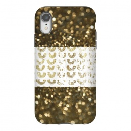 iPhone Xr  Golden Glitter by Andrea Haase