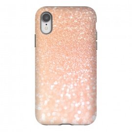 iPhone Xr  Rose Blush Glitter by