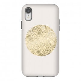 iPhone Xr  Golden Ornament Off White by Andrea Haase