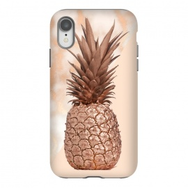 iPhone Xr  Sweet Copper Pineapple and Marble by Utart