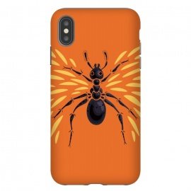 iPhone Xs Max  Winged Ant  Abstract Art by Boriana Giormova