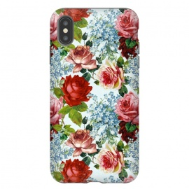 Vintage roses and Forget Me Not by Utart