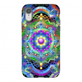 iPhone Xr  Mandala Universe Psychedelic  by BluedarkArt