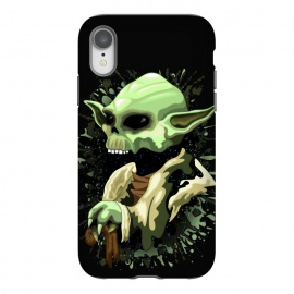 iPhone Xr  Yoda Jedi Master Skull by BluedarkArt