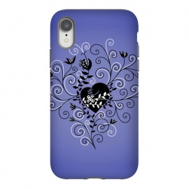 iPhone Xr  Dark Gothic Mended Broken Heart by