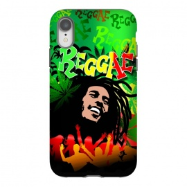 Reggae RastaMan Music Colors Fun and Marijuana by BluedarkArt
