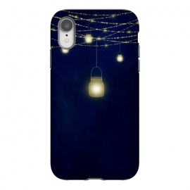 iPhone Xr  Sparkling Light Jars at night by Utart