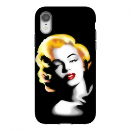 iPhone Xr  Marilyn Golden Hair by BluedarkArt